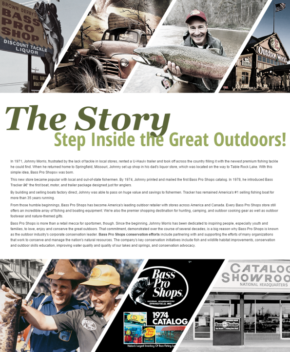 2014 About Us page - Bass Pro Shops