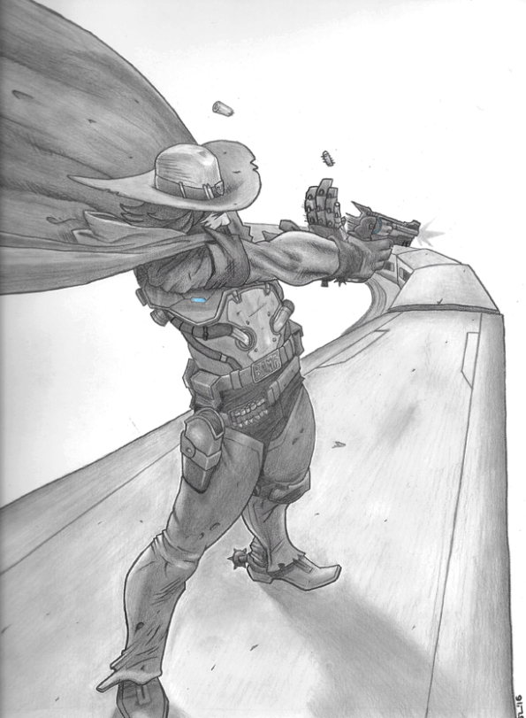 Overwatch: McCree (scan)